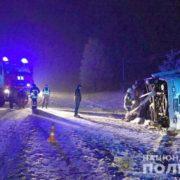Стали відомі подробиці аварії автобуса Снятин-Косів, який перекинувся з 20-ма пасажирами