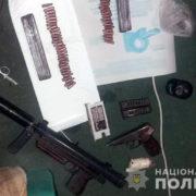 На Франківщині у донеччанина знайшли пістолет-кулемет з глушником та патронами (фото)