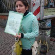 Жебрачку з російськими документами виявили муніципальні вартові у Франківську (ФОТО)