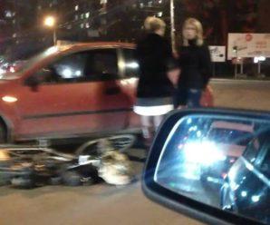 У Франківську автівка збила велосипедиста (ФОТОФАКТ)