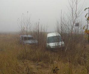 На Прикарпатті два автомобілі злетіли з траси і зіткнулися в кюветі (ФОТО)