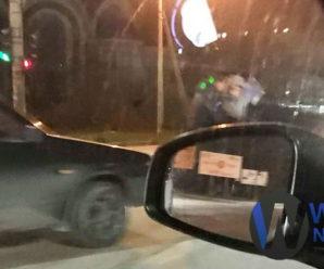 ДТП в Івано-Франківську: легковик збив людину. ФОТО