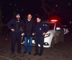 Руслан Марцінків на одну ніч став патрульним поліцейським