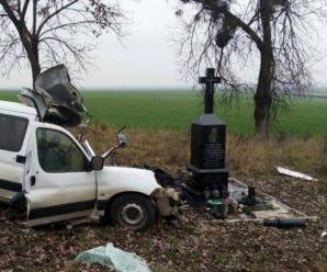 Автомобіль врізався у туристичний автобус і злетів у кювет: є загиблий (фото, відео)