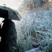 На Прикарпаття йдуть перші заморозки