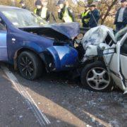 Фатальна ДТП: легковики на шаленій швидкості зіткнулись лоб в лоб