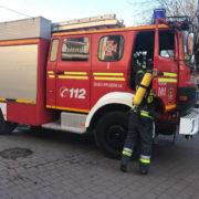 Пожежа в середмісті Івано-Франківська: на Галицькій горить будинок (фото)