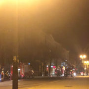 У середмісті Івано-Франківська горить будинок (фото)