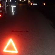 У Калуші водій на смерть збив жінку і зник з місця ДТП