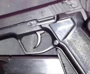 На Снятинщині у водія-порушника виявили пістолет і патрони