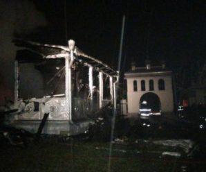 Чому на Прикарпатті вщент згоріла церква. ВІДЕО
