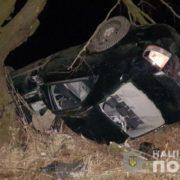На Львівщині чоловік в`їхав у дерево. Його пасажир загинув на місці