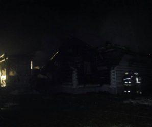 На Косівщині вщент згоріла церква: рятувальники розповіли деталі