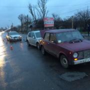 """У Франківську п'яний водій на """"блясі"""" скоїв потрійну ДТП (ФОТО)"""