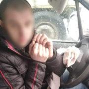 """Самотній бунтар: п'яний """"євробляхер"""" заблокував в'їзд на митницю (фото)"""