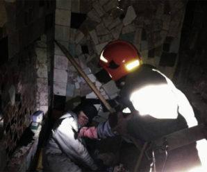 В Івано-Франківську у вогні мало не загинув безхатченко