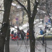 """У Франківську водій """"Ланоса"""" збив жінку на пішохідному переході (ФОТО)"""