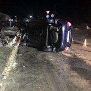 На Прикарпатті перекинувся легковий автомобіль – 35-річний водій загинув (ФОТО)