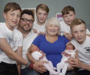 Коли мама двох пар близнюків прийшла в лікарню, у лікарів відняло дар мови… Випадок на мільйон!