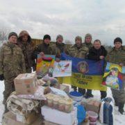 Волонтери з Галича передали українським бійцям понад дві тонни допомоги