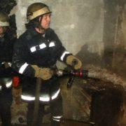 В Івано-Франківській області горіло приміщення «Укртелекому»