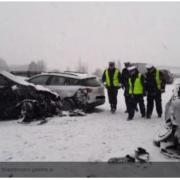 У Польщі сталася масштабна аварія: зіткнулися відразу 17 авто
