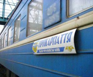 17-річна дівчина потрапила під потяг Франківськ – Київ