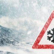 Штормове попередження: в Івано-Франківській області очікується лавинна небезпека, на дорогах ожеледиця