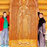 На Прикарпатті виготовили найбільший дерев'яний запрестольний образ Святого Василія Великого