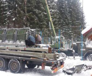 У Ворохті відновлюють канатну дорогу (ФОТО)