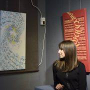 У Франківську представили виставку робіт у техніці каліграфічного письма