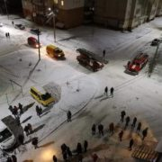 У Калуші під час пожежі евакуювали 20 мешканців багатоповерхівки. ФОТО