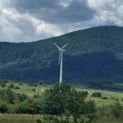 На Долинщині горіла вітрова електростанція