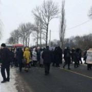 На Прикарпатті мешканці планують перекрити дорогу, якою їхатиме Президент