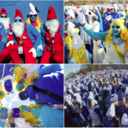 У Німеччині зібралося більше 2 700 Смурфіків