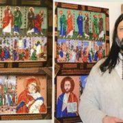 На аукціоні живопису зберуть кошти на лікування художнику, який втратив ногу