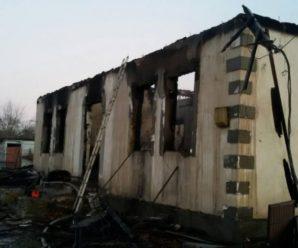 У пожежі на Прикарпатті загинув 31-річний чоловік. ФОТО