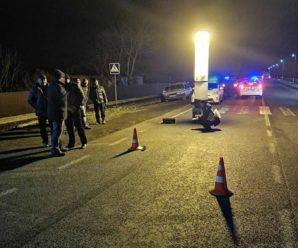 У Тисменицькому районі під колесами автомобіля загинув велосипедист (фотофакт)