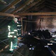 Під час пожежі в Болехові надзвичайники врятували людину (ФОТО)