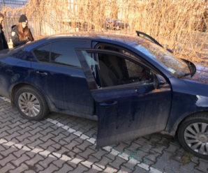В Івано-Франківську пограбували машину міського голови (фото)