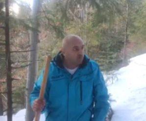 """""""Дивіться, друзі, які грибочки ростуть зимою в лісі"""", – відомий прикарпатський грибник(відео)"""