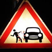На Прикарпатті фургон збив жінку, потерпіла у важкому стані