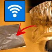 Візьміть звичайну фольгу і покращіть сигнал Wi-Fi в 2 рази(ВІДЕО)