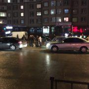 ДТП у Франківську: під колесами авто опинився пішохід (фотофакт)