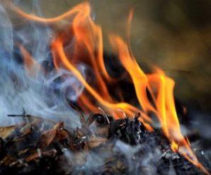 У Косівському районі пенсіонерка, що палила сміття, потрапила у лікарню з опіками