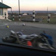 У Івано-Франківській області на залізничному переїзді трапилася ДТП, є постраждалий (фотофакт)