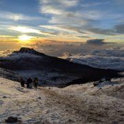 Наші на Кіліманджаро. Як шестеро франківців зійшли на найвищу гору Африки