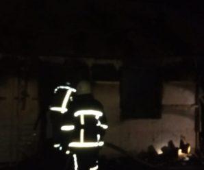 На Прикарпатті під час пожежі згорів чоловік.ФОТО