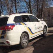 У Калуші негода пошкодила два службові авто поліції