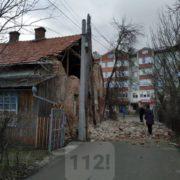 Біля Франківська завалилась стіна будинку
